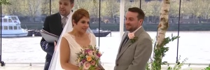 HQS Wellington wedding on TV - April 2016